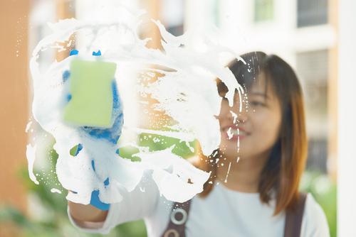 prípravky na umývanie okien
